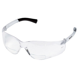 MCR Safety® Bearkat® Magnifiers, Clear Frame & Lens, +2.0 Diopter, 1/Each
