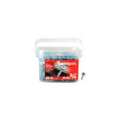 "ITW Teks Lath Drill Point Screw - #8-18 x 3/4"" - Pkg of 600 - 21525"