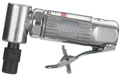 300 Series Right Angle Die Grinder, 0.25 Hp, 1/4 in and 6 Mm Output, 1/4 in Nptf Air Inlet, 21,000 Rpm, Front Exhaust