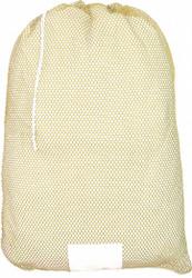 Sim Supply Mesh Laundry Bag,Yellow,Drawcord,PK12  MP245567