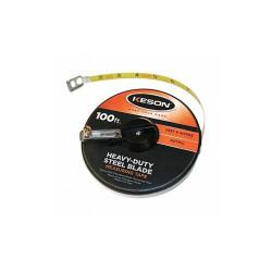 Keson Tape Measure,3/8 In x 100 ft/30m,Orange  ST10018M