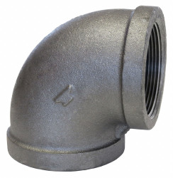 Anvil 90 Elbow, Malleable Iron, 4 in, FNPT  0310002605