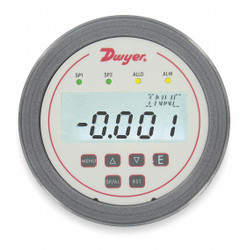 Dwyer Instruments Digital Panel Meter,Pressure  DH3-006