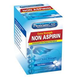 Non-Aspirin Acetaminophen Pain Reliever, 2 Pkg/125 Each