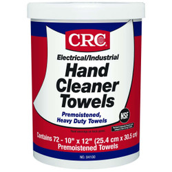 Hand Cleaner Towels, 72 Count