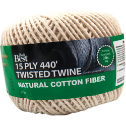 Do it 15-Ply x 440 Ft. Natural Twisted Cotton Cord 311282