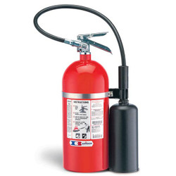 Badger™ Extra 10 lb CO2 Fire Extinguisher w/ Wall Hook
