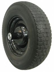 Westward Wheelbarrow Tire,Knobby,14-1/2 In. Dia.  10G170