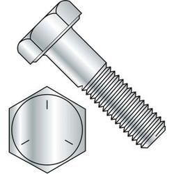 """Hex Cap Screw - 5/16-18 x 2"""" - Carbon Steel - Zinc CR+3 - Gr 5 - PT - UNC - Pkg"""
