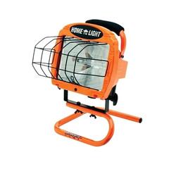 500w Portable Halogen Work Light W/ Switch; 500 Watt Portable Halogen Floodlight