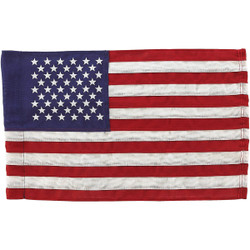 Valley Forge 11 In. x 15 In. Polyester American Garden Flag USGF-C