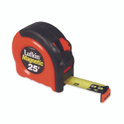 """1"""" x 8m/26' 700 Series Magnetic SAE/Metric Yellow CladTape Measure"""