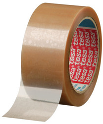 Carton Sealing Tapes, 110 Yd, 1.6 Mil Thickness, Clear