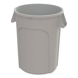 Impact Value-Plus Containers, Low Density Polyethylene, 20 Gal, Gray GC200103