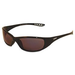 Kleenguard V40 Hellraiser Safety Glasses, Black Frame, Blue Mirror Lens 20543