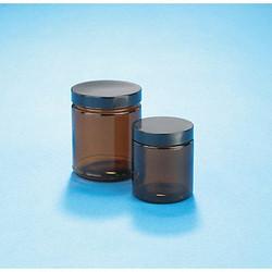 Kimble Straight-Sided Glass Jar,16 Oz,PK12  5421689C-26