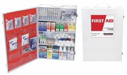 Sim Supply First Aid Kit,Bulk,White,1172Pcs,150 Ppl  54574