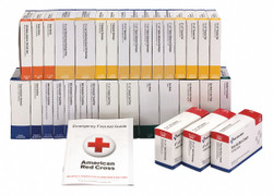 First Aid Only First Aid Kit Refill,Brown,12-39/64in.D  90584