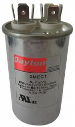 """Dayton Motor Run Capacitor,5  MFD,3 5/16""""  H  2MEC1"""