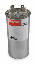 """Dayton Motor Run Capacitor,55  MFD,5 7/16""""  H  2MEH8"""