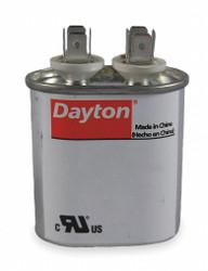 """Dayton Motor Run Capacitor,25  MFD,3 1/2""""  H  2MDW3"""