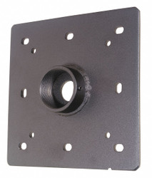 """Video Mount Products Ceiling Plate,Black,7.5""""Dx1.25""""Hx7.5""""W  CP1"""