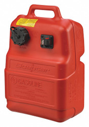 Scepter Marine Portable Fuel Tank,Red,6.6 gal.,Plastic  08580