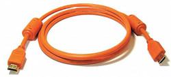 Monoprice HDMI Cable,Std Speed,Orange,3ft,28AWG  3949