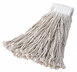 Rubbermaid String Wet Mop,18 oz.,Rayon,PK12  FGV41700WH00