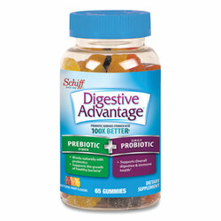 Digestive Advantage Prebiotic Plus Probiotic, Gummies, 65 Count 96957
