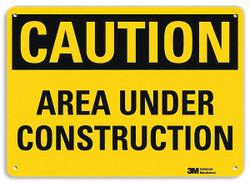 Lyle Caution Sign,10 in x 14 in,Aluminum  U4-1055-NA_14x10