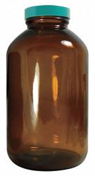 Qorpak Packer Bottle,1250mL,Glass,Wide,PK6  GLC-05924