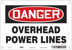 Condor Safety Sign,7 in x 10 in,Aluminum  475T56