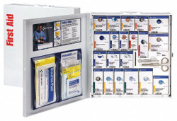 First Aid Only First Aid Kit,50 People,Metal,289 Comp.  746005