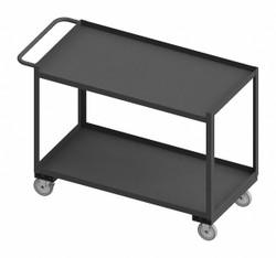Westward Utility Cart,1,200 lb,Steel  RSC-2448-2-1TLD-95W