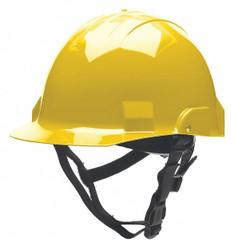 Bullard Fire/Rescue Helmet,Thermoplastic,Yellow  A2YLS