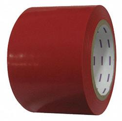 Condor Floor Tape,Red,3 inx108 ft,Roll  58251
