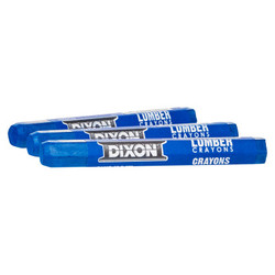 Lumber Crayons, 1/2 in X 4 1/2 In, Soft Blue