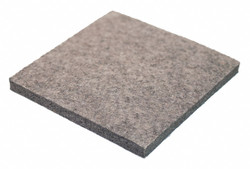 Sim Supply Felt Sheet,F3,3/16 In Thick,24 x 24 In  2FHH5