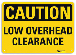 Lyle Caution Sign,10 inx14 in,Aluminum  U4-1516-NA_14x10