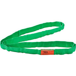 Global Industrial Polyester Round Sling, Endless, 4 Ft. x 1.25 In, 5300/4200/106