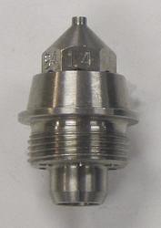 Binks Spray Gun Fluid Nozzle,For 1ZKZ5, 1ZLA5  45-9400