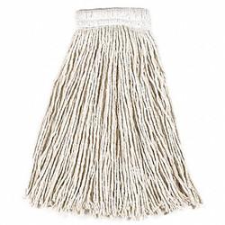 Rubbermaid String Wet Mop,20 oz.,Cotton,PK12  FGV15800WH00