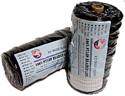 Lee Fisher TNBB-18 Lee Fisher Size 18 1 lb Braided Twine Black 950 Ft 115 Test