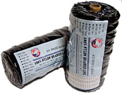 Lee Fisher TNBB-24 Lee Fisher Size 24 1 lb Braided Twine Black 700 Ft 150 Test