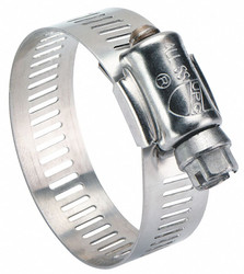 Sim Supply Hose Clamp,1-3/4 to 3-3/4 In,SAE 52,PK10  6352