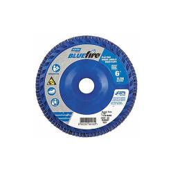Norton Flap Disc,6 In x 60 Grit,7/8  66623399153