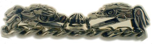 sterling silver eagle bracelet. weighs 82.6 grams