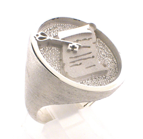 General Treasurer ring in sterling silver. Added aug 28 2021