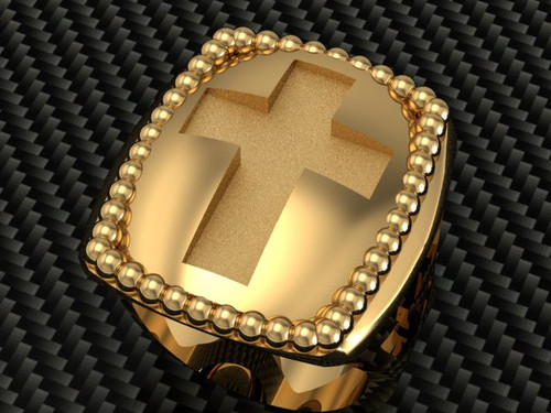 This is a rectangular Episcopal ring.  It can become a signet ring using your seal for an additional one time charge of $300.